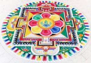 Tara Sand Mandala Creation @ Lion's Roar Dharma Center